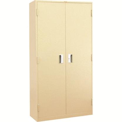 รูปภาพของ ตู้ล็อกเกอร์บานเปิด 2 ประตู ลัคกี้ LK-6102 สีครีม