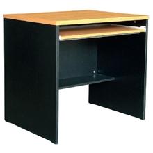 รูปภาพของ โต๊ะทำงาน โมโน WCTC 80(F) เชอร์รี่/ดำ