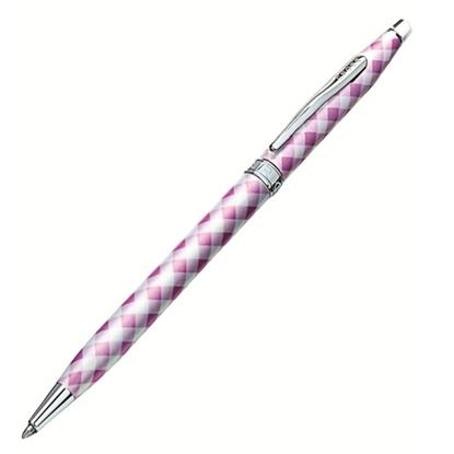 รูปภาพของ ปากกาลูกลื่น Cross Gingham BP#AT0082-67 Pink