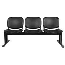 รูปภาพของ เก้าอี้แถว 3 ที่นั่ง โมโน Premier PM3 หนังเทียม