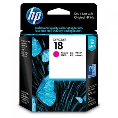 รูปภาพของ ตลับหมึกอิงค์เจ็ท Inkjet Cartridge HP18 (C4938A) (M) ชมพู