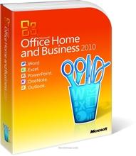 รูปภาพของ โปรแกรมออฟฟิศ Office Home and Business 2010 32-bit/x64 English DVD w/Thai SLP