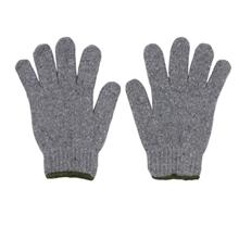 รูปภาพของ ถุงมือผ้าทอ 7 ขีด สีเทาขอบเขียว (แพ็ค 12 คู่)