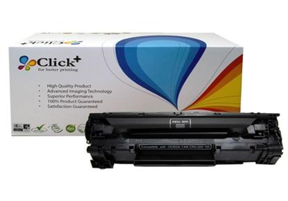 รูปภาพของ ตลับหมึกเลเซอร์โทนเนอร์ Click+ (CE285A) สีดำ