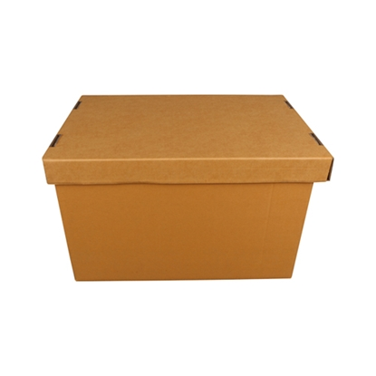 """รูปภาพของ กล่องเอกสารมีฝา Box Office 3A 13x17.5x10.5"""" (แพ็ค 5 ใบ)"""