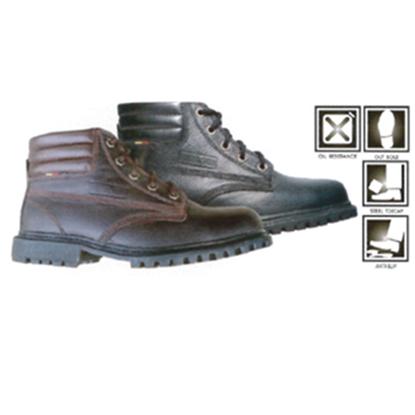 รูปภาพของ รองเท้าหุ้มข้อ ผูกเชือก พื้นยางกันน้ำมัน ยี่ห้อ STUTTGART รุ่น SF - 205