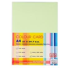 รูปภาพของ กระดาษการ์ดสี S.B. A4 120g. สีเขียว (250 แผ่น/รีม)