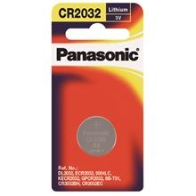 ถ่านกระดุม ถ่านกระดุมลิเธี่ยม พานาโซนิค CR-2032PT/1B (แพ็ค 1 ก้อน) พานาโซนิค