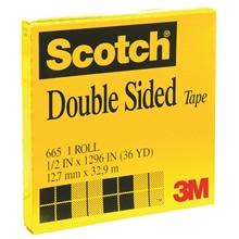 """รูปภาพของ เทปใสกาว 2 หน้า SCOTCH #665 1/2""""x36y แกน 3"""""""