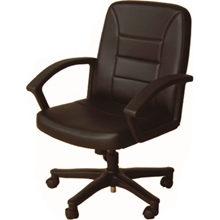 รูปภาพของ เก้าอี้สำนักงาน คิงด้อม CH-910A หนัง