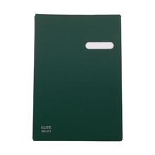 รูปภาพของ สมุดเสนอเซ็นต์ ELITE 571 สีเขียว