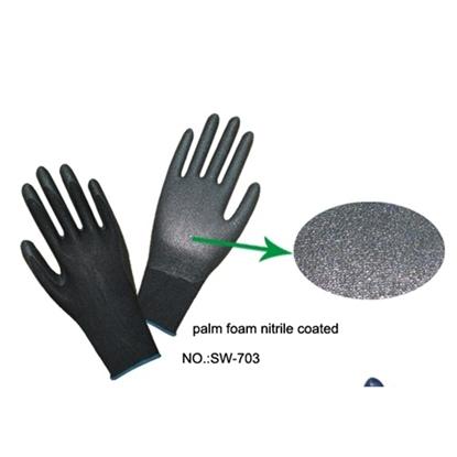 รูปภาพของ ถุงมือไนล่อนเคลือบPU BEST-SAFE สีเทา