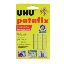 รูปภาพของ กาวดินน้ำมัน UHU Patafix 60 กรัม เหลือง