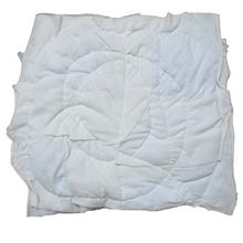 รูปภาพของ เศษผ้าขาวเย็บวน 10x10 นิ้ว