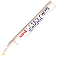 รูปภาพของ ปากกาเพ้นท์ ยูนิ รุ่น PX-30 สีขาว