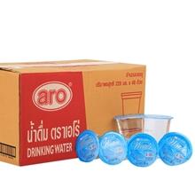 น้ำดื่ม น้ำดื่มชนิดถ้วย ARO (48 ถ้วย/ลัง) ARO