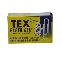 รูปภาพของ ลวดเสียบกระดาษแบบกลม TEX  กล่องละ 50 ตัว