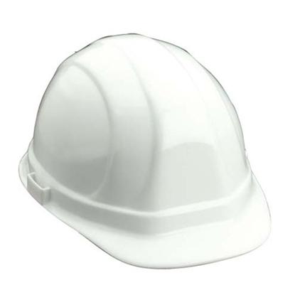 รูปภาพของ หมวกนิรภัย OMEGA II รองในแบบปรับเลื่อน สีขาว