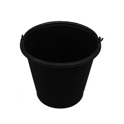 รูปภาพของ ถังน้ำพลาสติก หูหิ้ว สีดำ เบอร์ 18