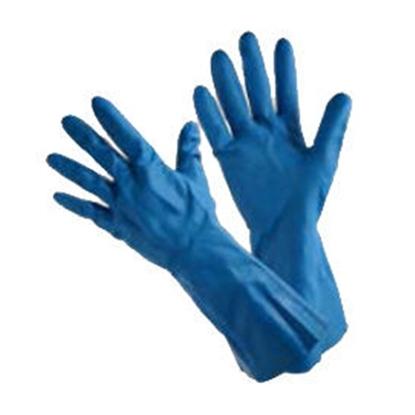 รูปภาพของ ถุงมือไนไตร หนา 18 mil ความยาว 13 นิ้วModel MARIGOLD: G 25 B (BLUE)