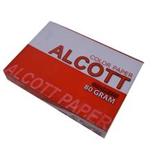 รูปภาพของ กระดาษสีถ่ายเอกสาร แอลคอท V1 80/500 A4 สีม่วงเข้ม