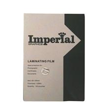 รูปภาพของ พลาสติกเคลือบบัตร อิมพีเรียล 125ไมครอน 65x95มม.(100 แผ่น)