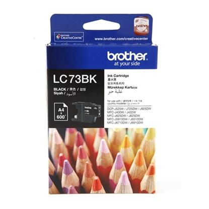 รูปภาพของ ตลับหมึกอิงค์เจ็ท Inkjet Cartridge บราเดอร์ LC-73BK