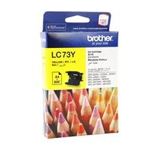 รูปภาพของ ตลับหมึกอิงค์เจ็ท Inkjet Cartridge บราเดอร์ LC-73Y เหลือง
