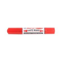 รูปภาพของ ปากกาไวท์บอร์ด 2 หัว ตราม้า สีแดง (กล่อง 12 ด้าม)