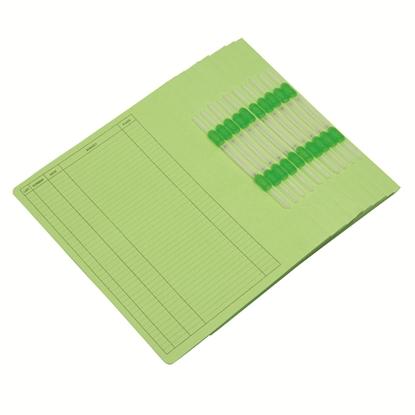 รูปภาพของ แฟ้มเจาะ ออร์ก้า FLA-101 A4  เขียว(1X10)