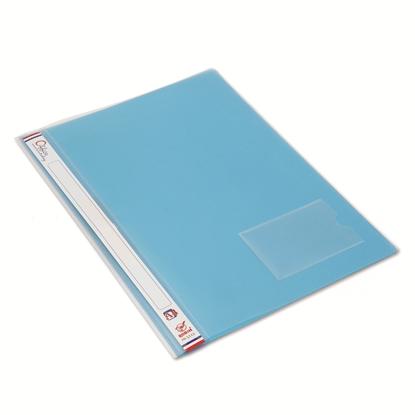 รูปภาพของ แฟ้มเจาะพลาสติก โรบิน 5212 A4 สีฟ้า