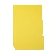 รูปภาพของ แฟ้มพับ 3 หยักใบโพธิ์  F/C เหลือง (1X3)