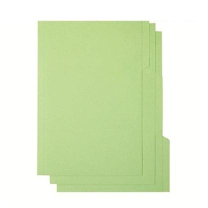 รูปภาพของ แฟ้มพับ 3 หยักใบโพธิ์  F/C เขียว (1X3)