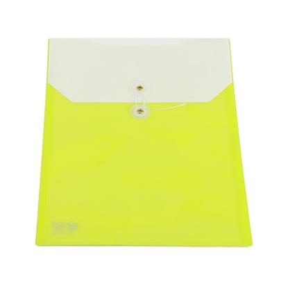 รูปภาพของ ซองพลาสติก ฟลามิงโก้ 9410 A4 สีเขียว