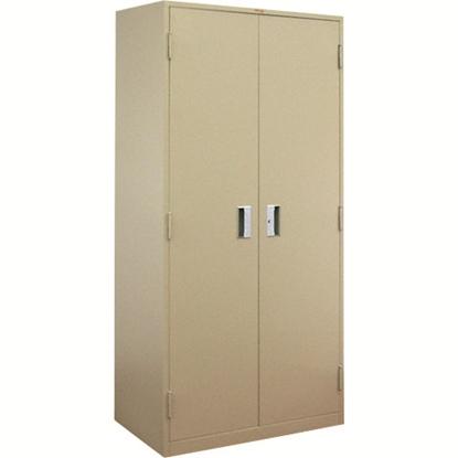 รูปภาพของ ตู้ล็อกเกอร์บานเปิด 2 ประตู ลัคกี้ LK-6102 สีเทา