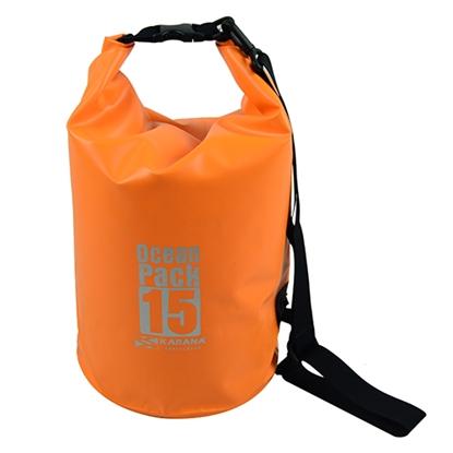 รูปภาพของ กระเป๋ากันน้ำ Ocean Pack 15 ลิตร สีส้ม