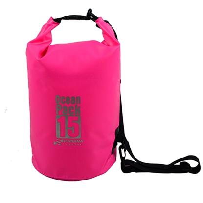รูปภาพของ กระเป๋ากันน้ำ Ocean Pack 15 ลิตร สีชมพู