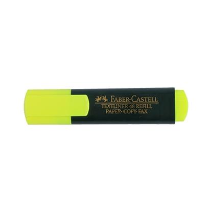 รูปภาพของ ปากกาเน้นข้อความ เฟเบอร์-คาสเทลล์ สะท้อนแสง    สีเหลือง