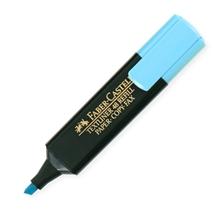 รูปภาพของ ปากกาเน้นข้อความ เฟเบอร์-คาสเทลล์ สะท้อนแสง สีฟ้า