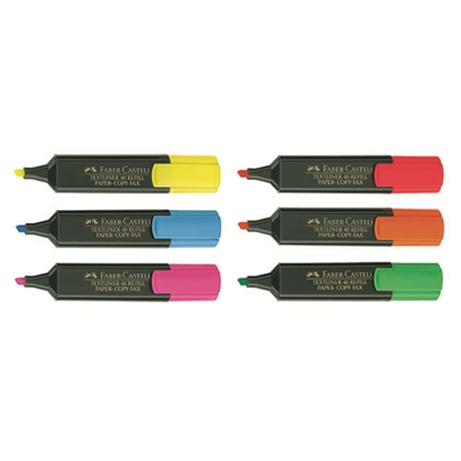 รูปภาพของ ปากกาเน้นข้อความ เฟเบอร์-คาสเทลล์ สะท้อนแสง   สีเขียว