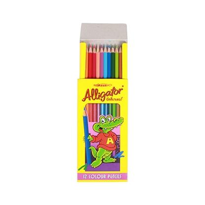 รูปภาพของ ดินสอสีไม้จระเข้ เฟเบอร์-คาสเทลล์ ยาว 12 สี