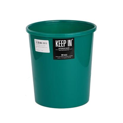 รูปภาพของ ถังขยะกลมไม่มีฝา สแตนดาร์ด RW9072 (5 ลิตร) สีเขียว