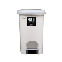 รูปภาพของ ถังขยะพลาสติก KEEP IN RW9262 (14 ลิตร) พื้นครีมขาว ฝาเทา