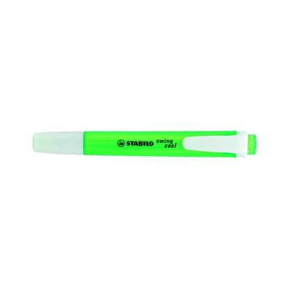 รูปภาพของ ปากกาเน้นข้อความ สตาบิโล สวิงคูล สีเขียว