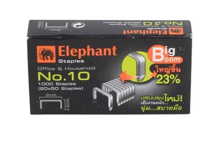 รูปภาพของ ลวดเย็บกระดาษตราช้าง เบอร์  10 Big Boom