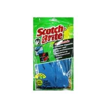 รูปภาพของ ถุงมือยางกันลื่นสก๊อตไบรต์ ขนาด S (1x12 คู่)