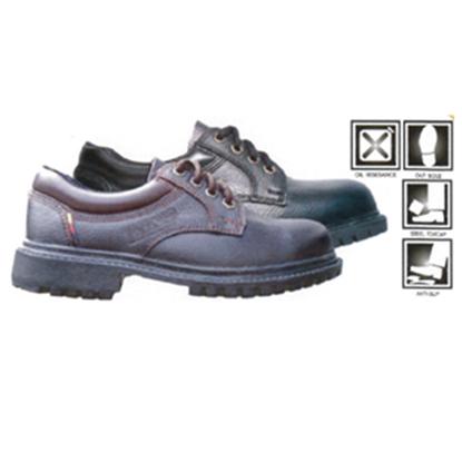 รูปภาพของ รองเท้าหุ้มส้น ผูกเชือก พื้นยางกันน้ำมัน ยี่ห้อ STUTTGART รุ่น SF - 204