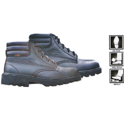 รูปภาพของ รองเท้าหุ้มข้อ ผูกเชือก พื้นรองเท้าพีวีซี ยี่ห้อ STUTTGART รุ่น SF-005