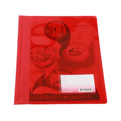 รูปภาพของ แฟ้มเจาะพลาสติก UD-550  A4 สีแดง