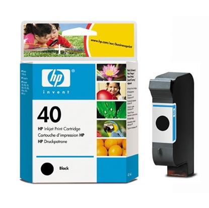 รูปภาพของ ตลับหมึกอิงค์เจ็ท Inkjet Cartridge HP40 (51640A) BK